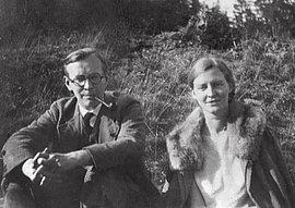 Arvid und Mildred Harnack bei Saalfeld, 1930
