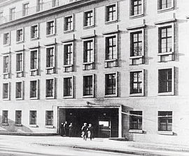 Entrance to the Bendler Block, Berlin, around 1940.