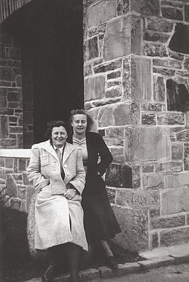 Ilse Unterdörfer (links) und Elfriede Löhr gehören den Zeugen Jehovas an.