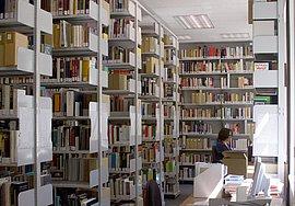 Bibliothek der Gedenkstätte Deutscher Widerstand, Leseraum I.