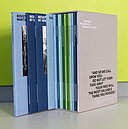 All 18 topic catalogs on the permanent exhibition Resistance against National Socialism as collected edition in slipcase