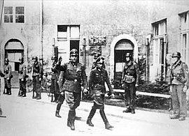 Nach dem Scheitern des Umsturzversuchs, 21. Juli 1944
